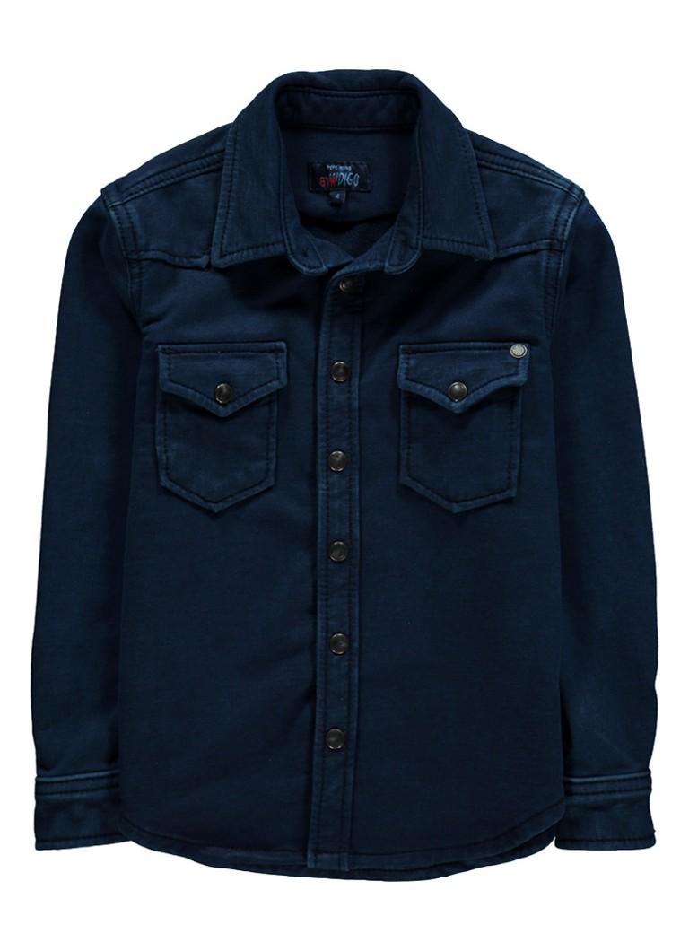 Pepe Jeans Karson overhemd met denim look