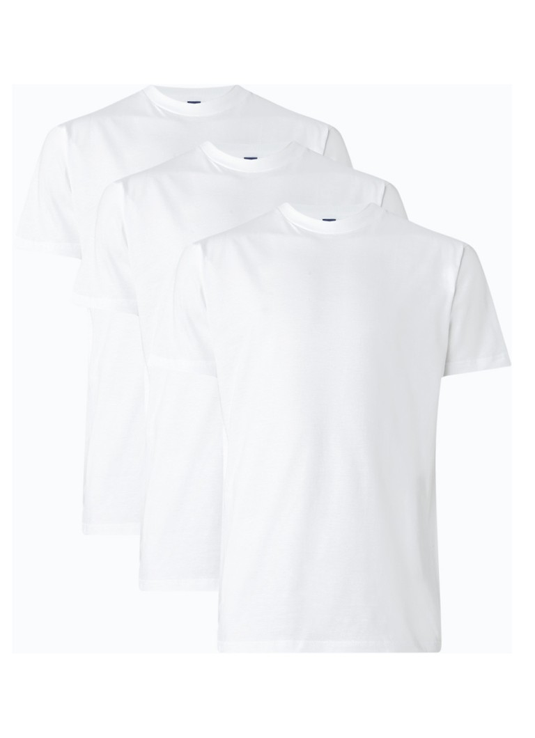 Alan Red Virginia 3-pack regular fit T-shirts