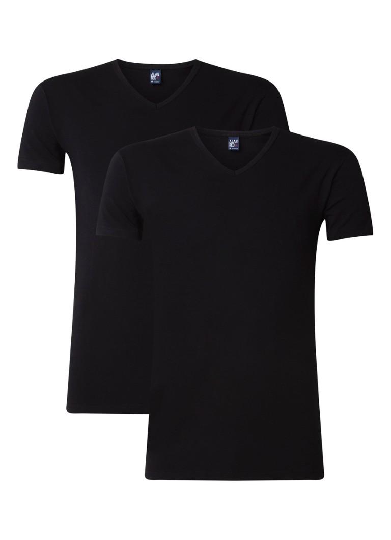 Alan Red Ottowa T-shirt met stretch