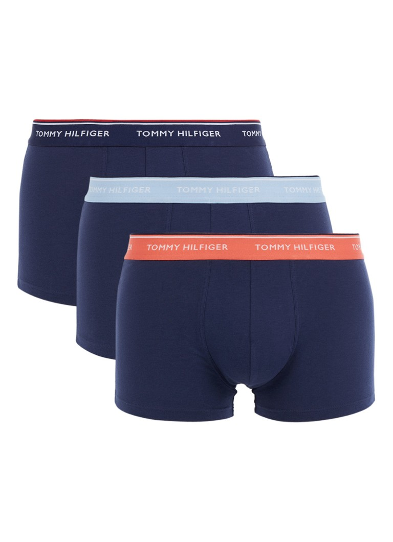 Tommy Hilfiger Boxershorts in uni in 3-pack
