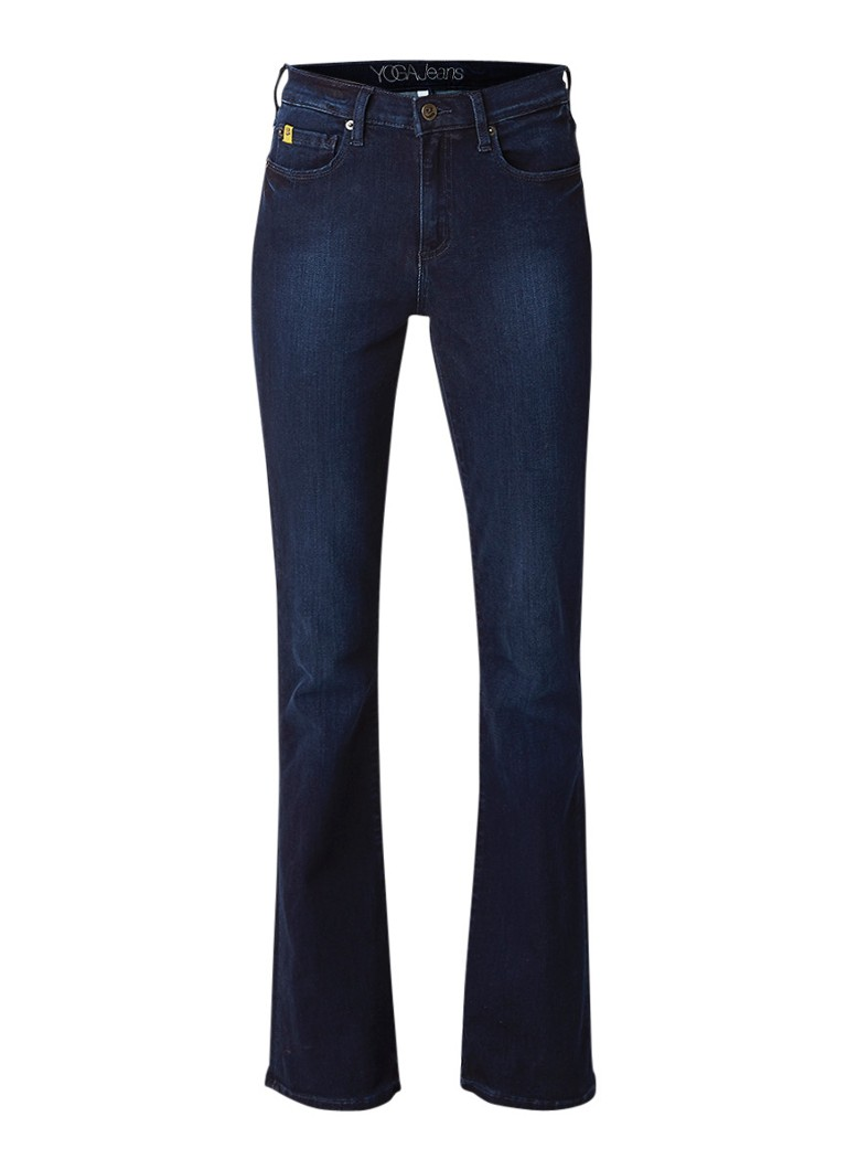 Yoga Jeans Alex high rise bootcut jeans met stretch