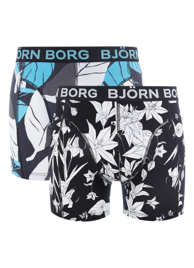 Björn Borg Boxershorts met dessin in 2-pack