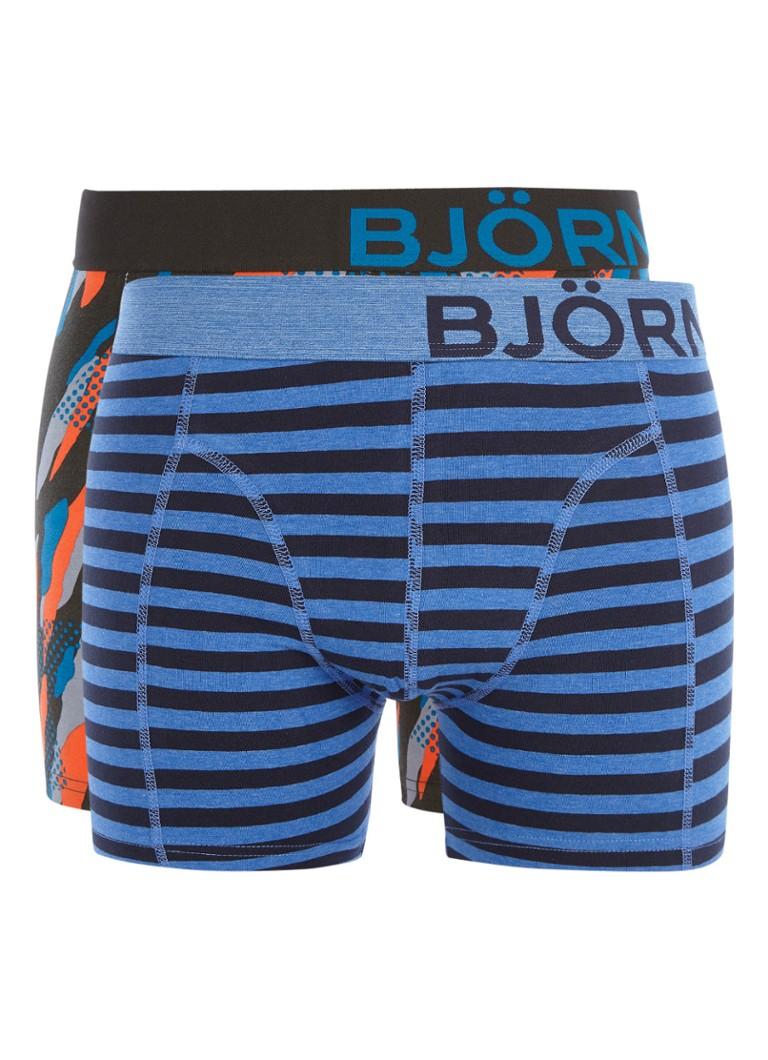 Björn Borg Core boxershorts met dessin in 2-pack