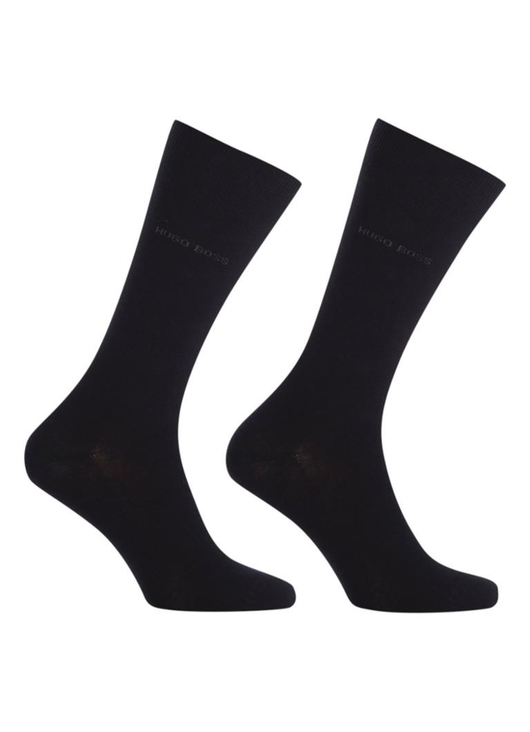 BOSS 2-pack sokken zwart