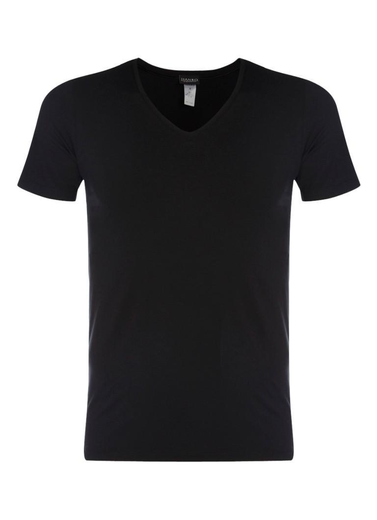 Hanro T-shirt met v-hals