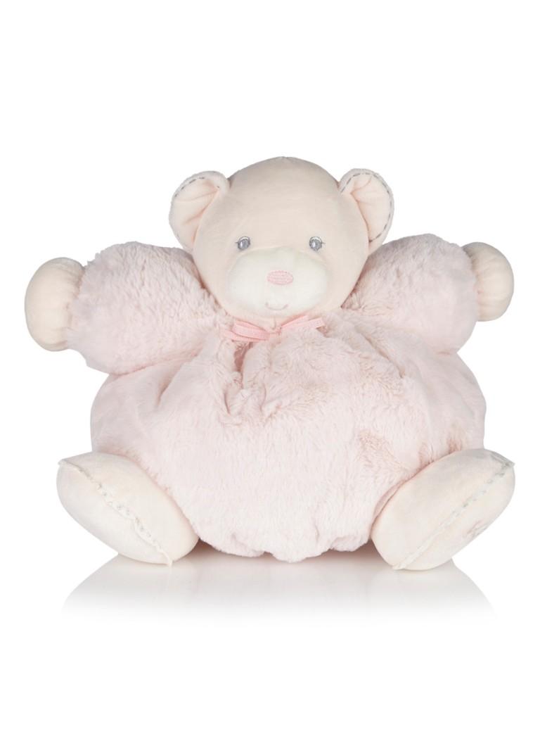 Kaloo Perle grote knuffelbeer roze in giftbox