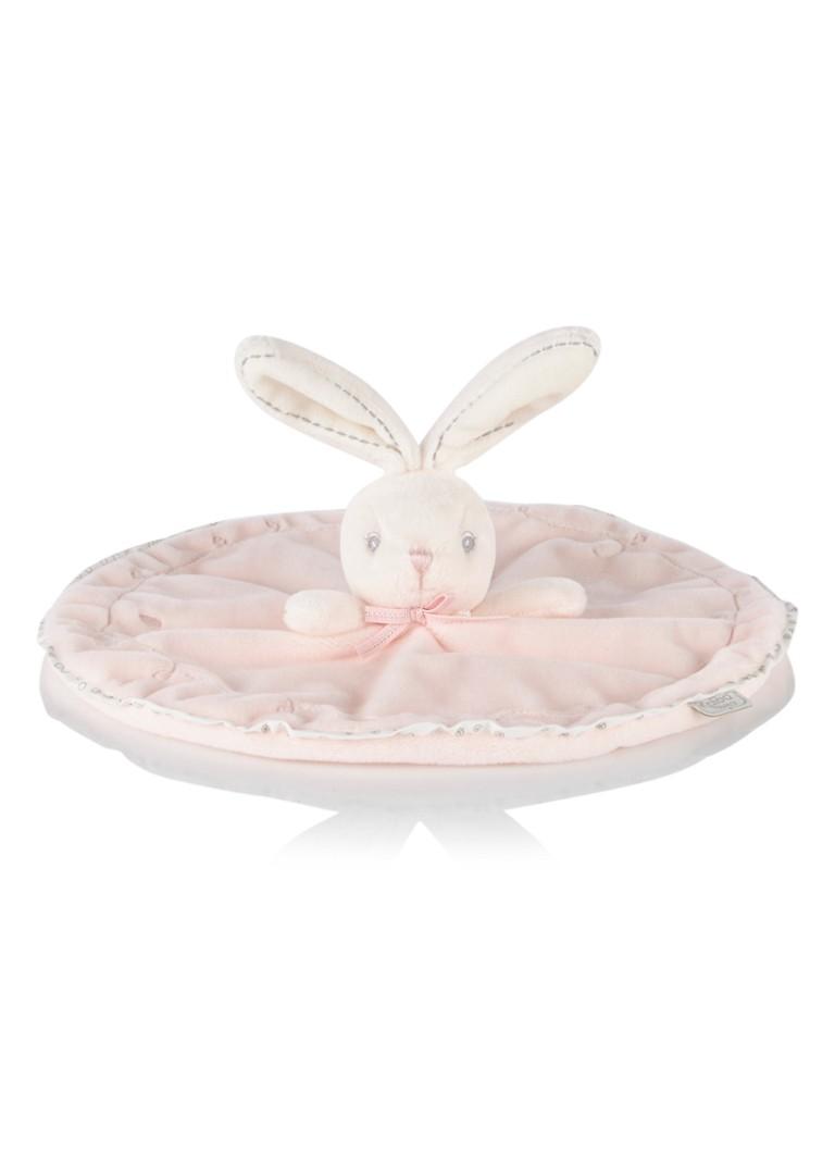 Kaloo Perle knuffeldoek konijn roze in giftbox