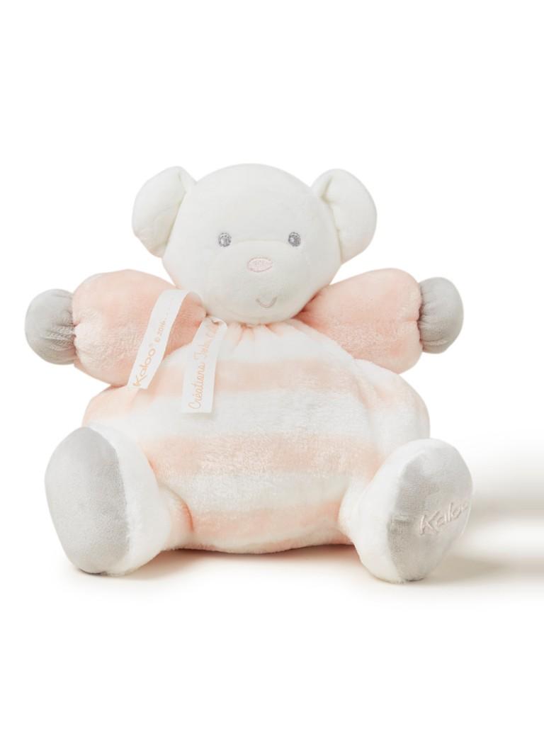 Kaloo Knuffelbeer gestreept in giftbox