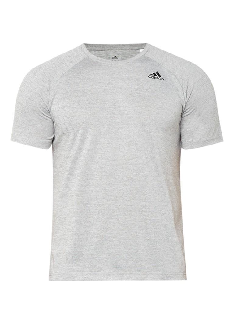 adidas D2M T-shirt met gemêleerd dessin