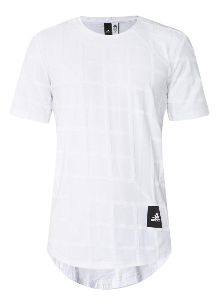 adidas Tactics T-shirt met rasterstructuur