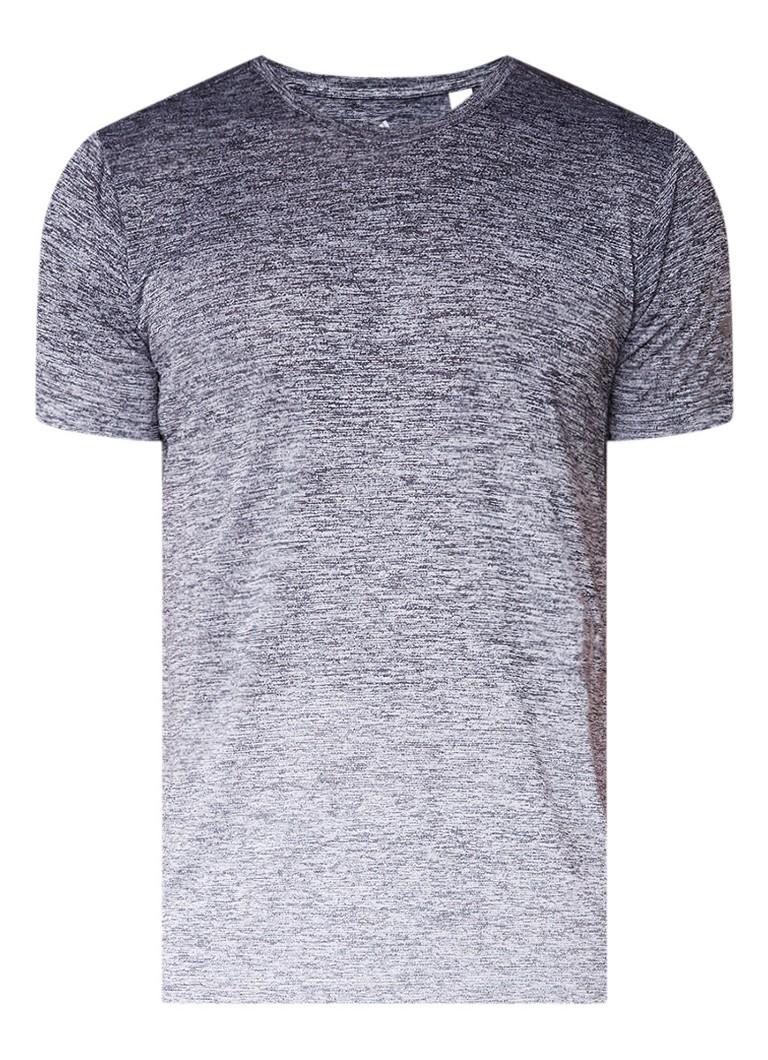adidas Freelift T-shirt met gemeleerde print