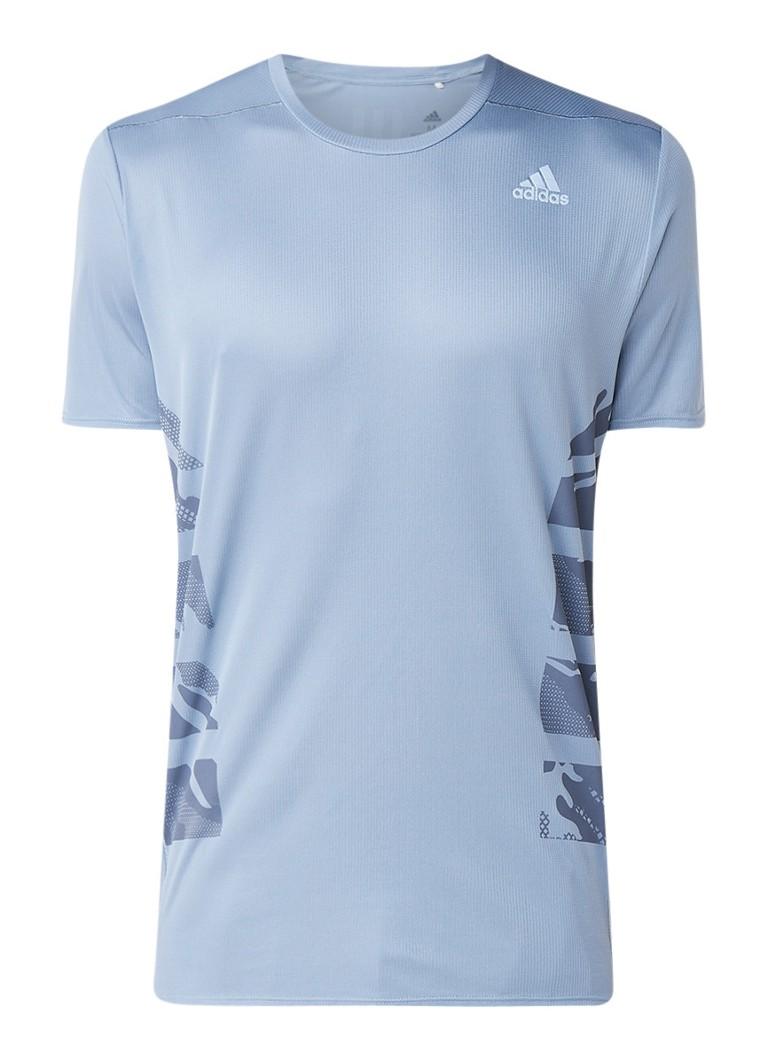 adidas Supernova hardloop T-shirt met mesh en logo