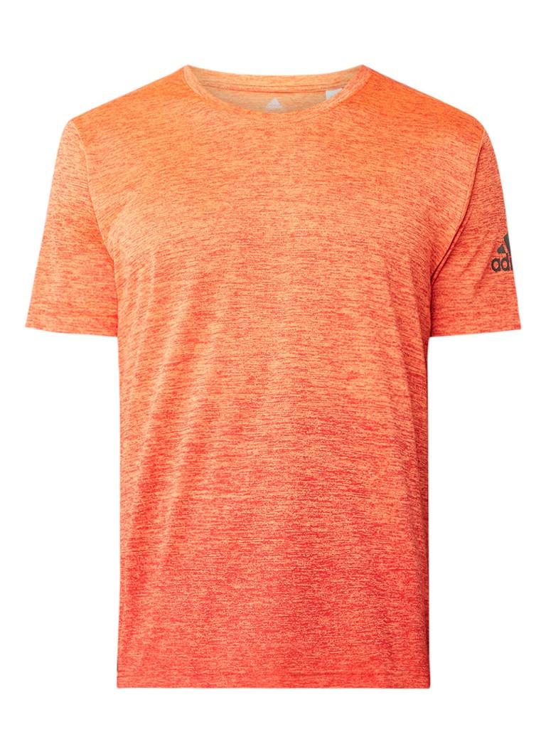 adidas Freelift Climalite T-shirt met gemeleerd dessin