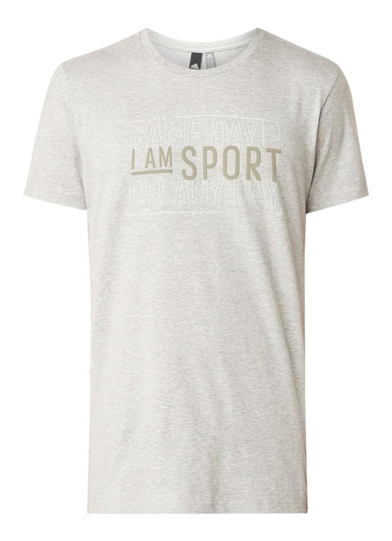 adidas Verbiage T-shirt met tekstopdruk