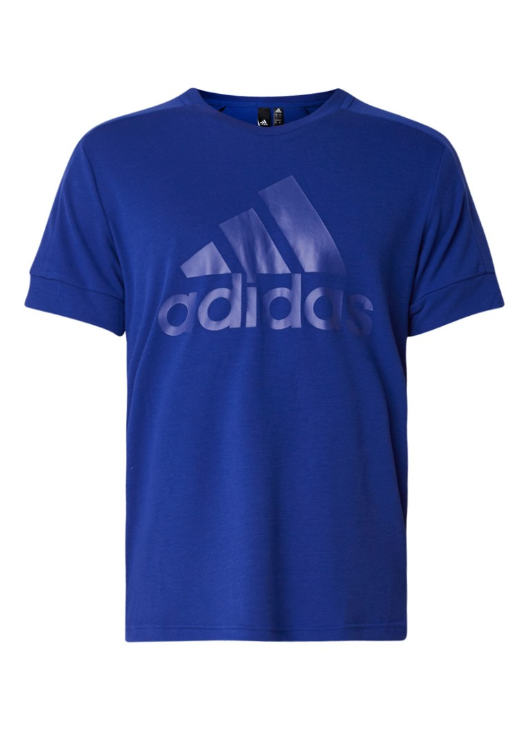 adidas T-shirt van jersey met logoprint