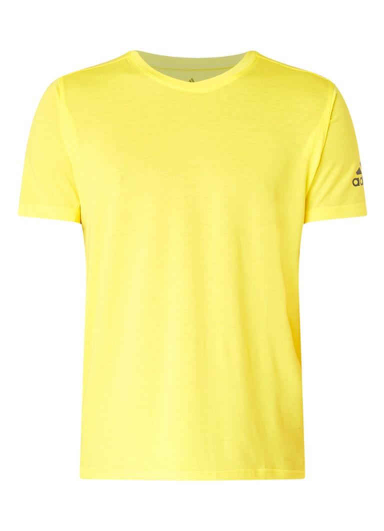 adidas Freelift Climalite trainings T-shirt met logoprint
