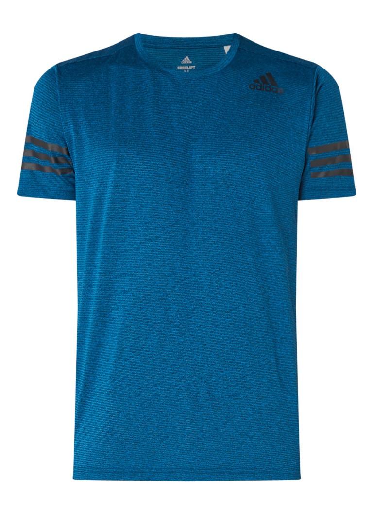 adidas Freelift trainings T-shirt met logoprint