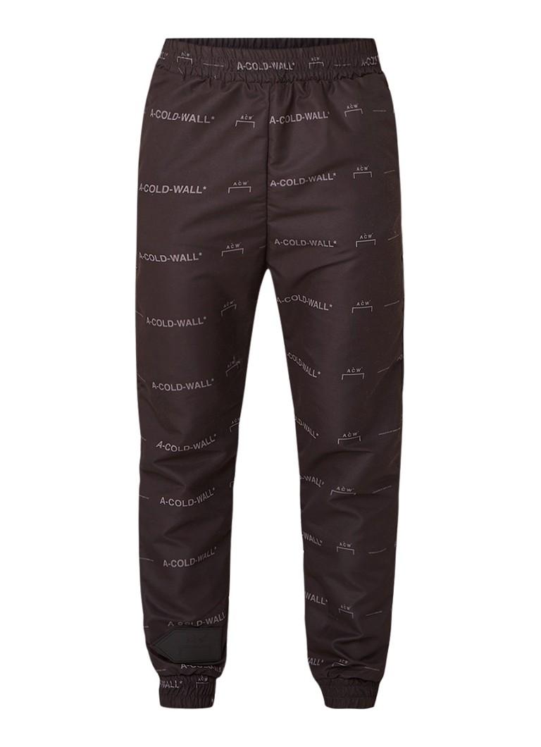 A-Cold-Wall Track pants met logodessin en merkapplicatie