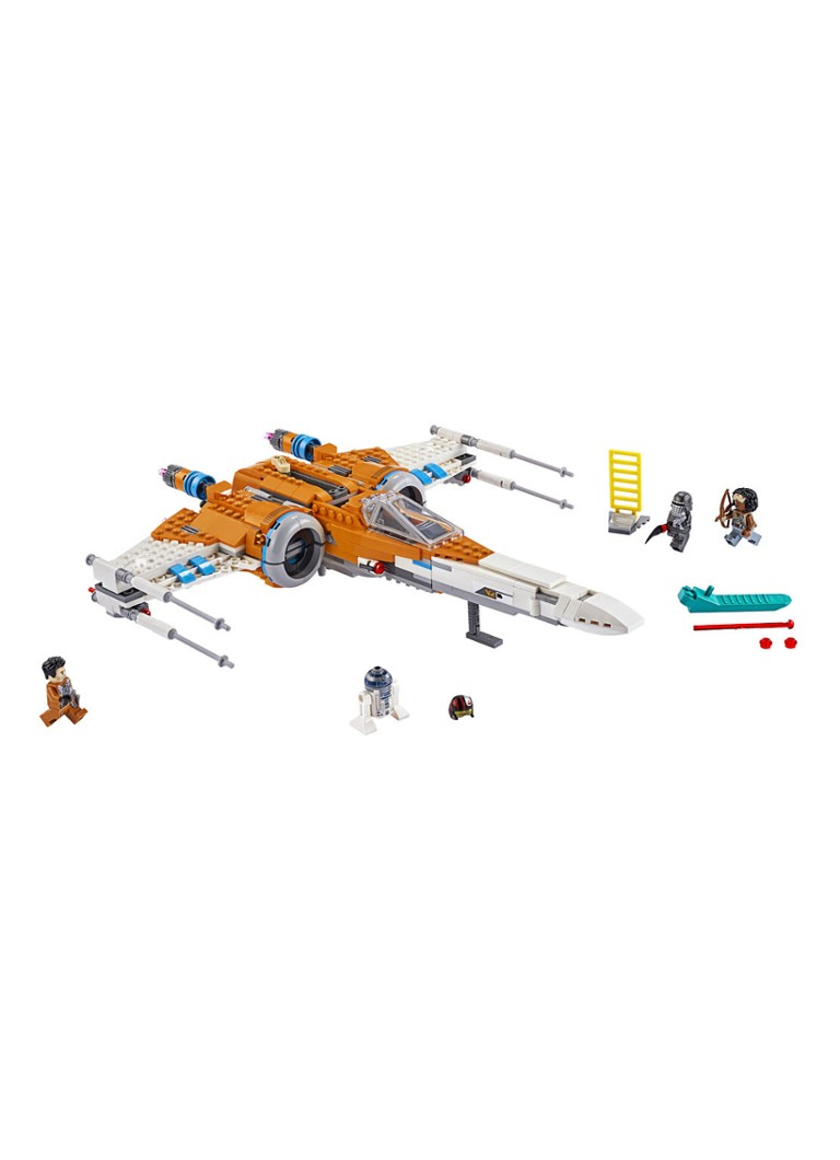 Poe Damerons X wing Fighter 75273