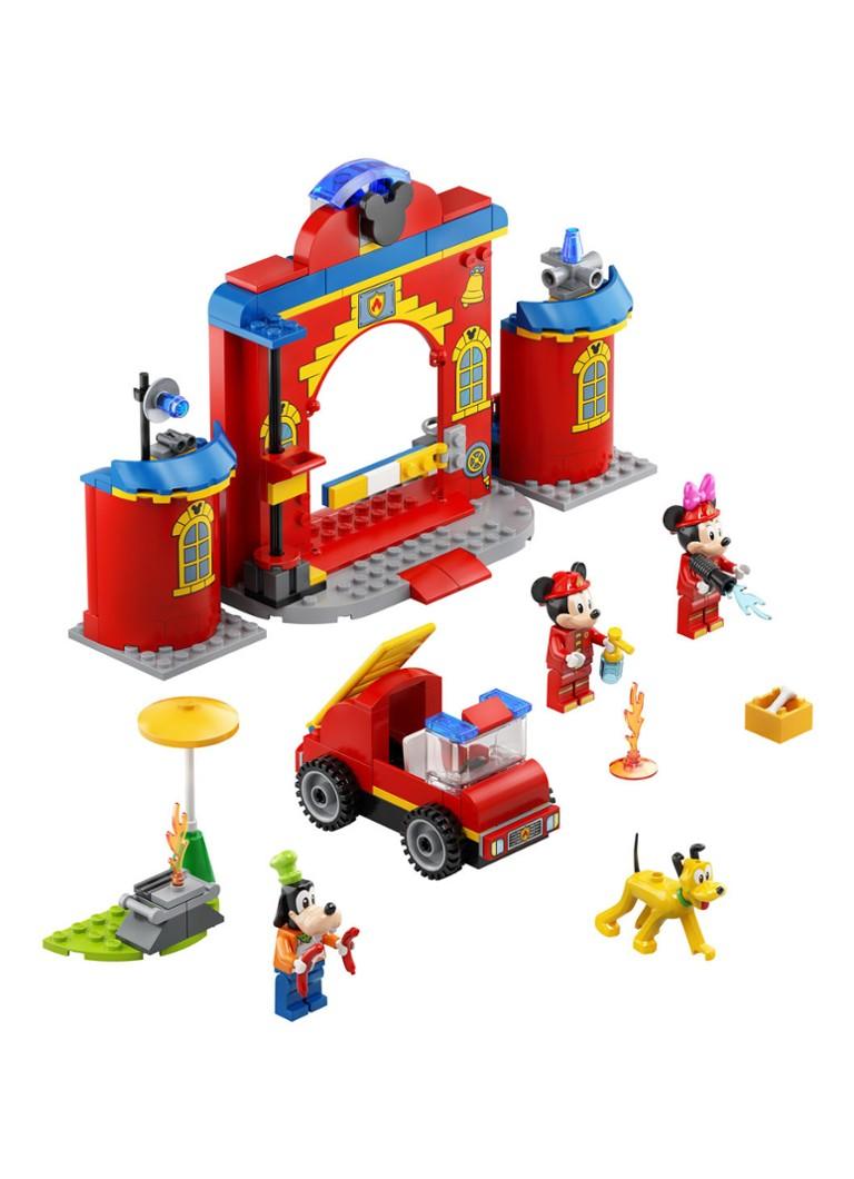 Mickey Mouse Brandweerkazerne auto 10776