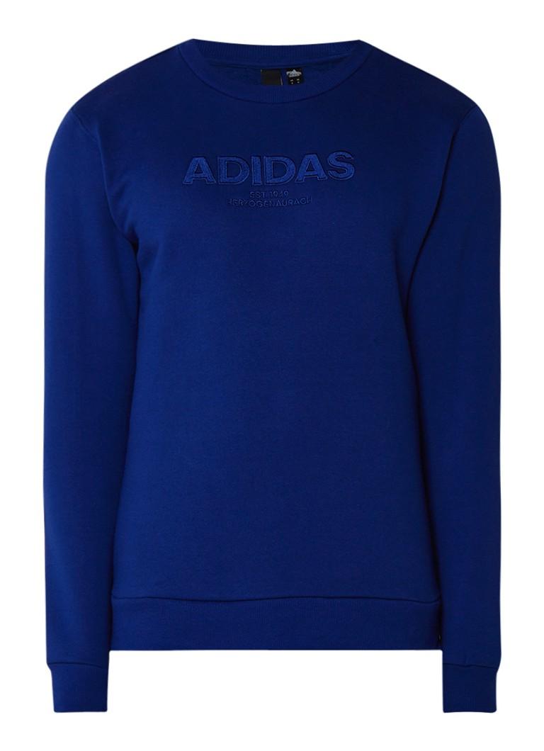 adidas Sweater met logoborduring
