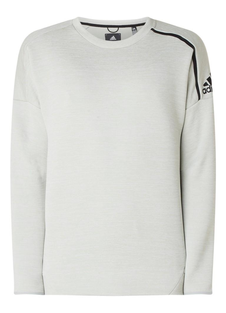 adidas Z.N.E. climalite gemeleerde sweater