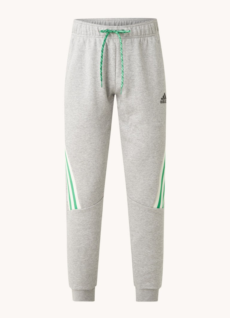 3 Stripes tapered fit joggingbroek met gestreept detail