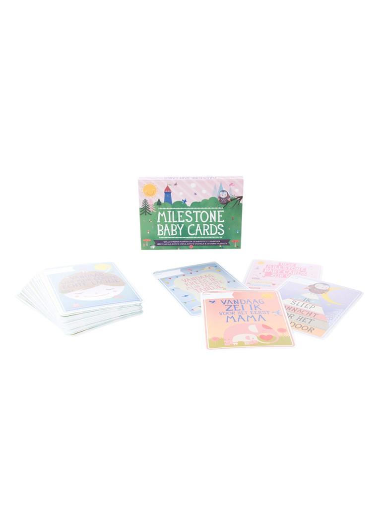 Milestone Cards Babykaarten Milestone Baby Cards