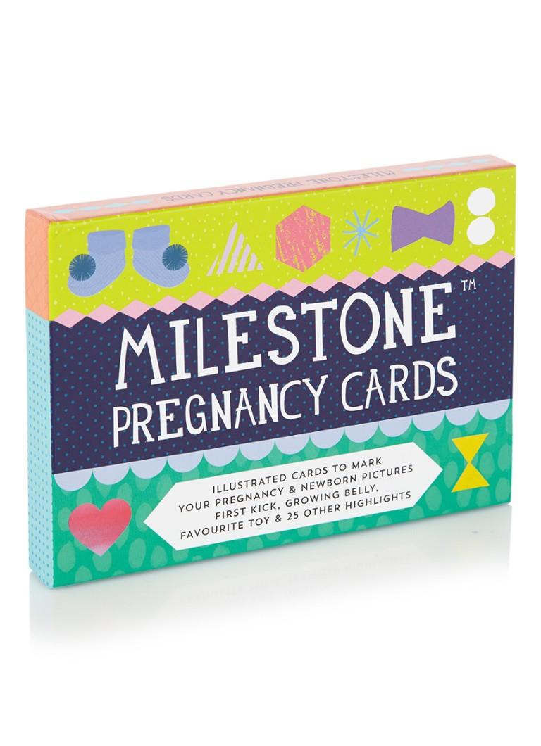 Milestone Cards Milestone Pregnancy Cards