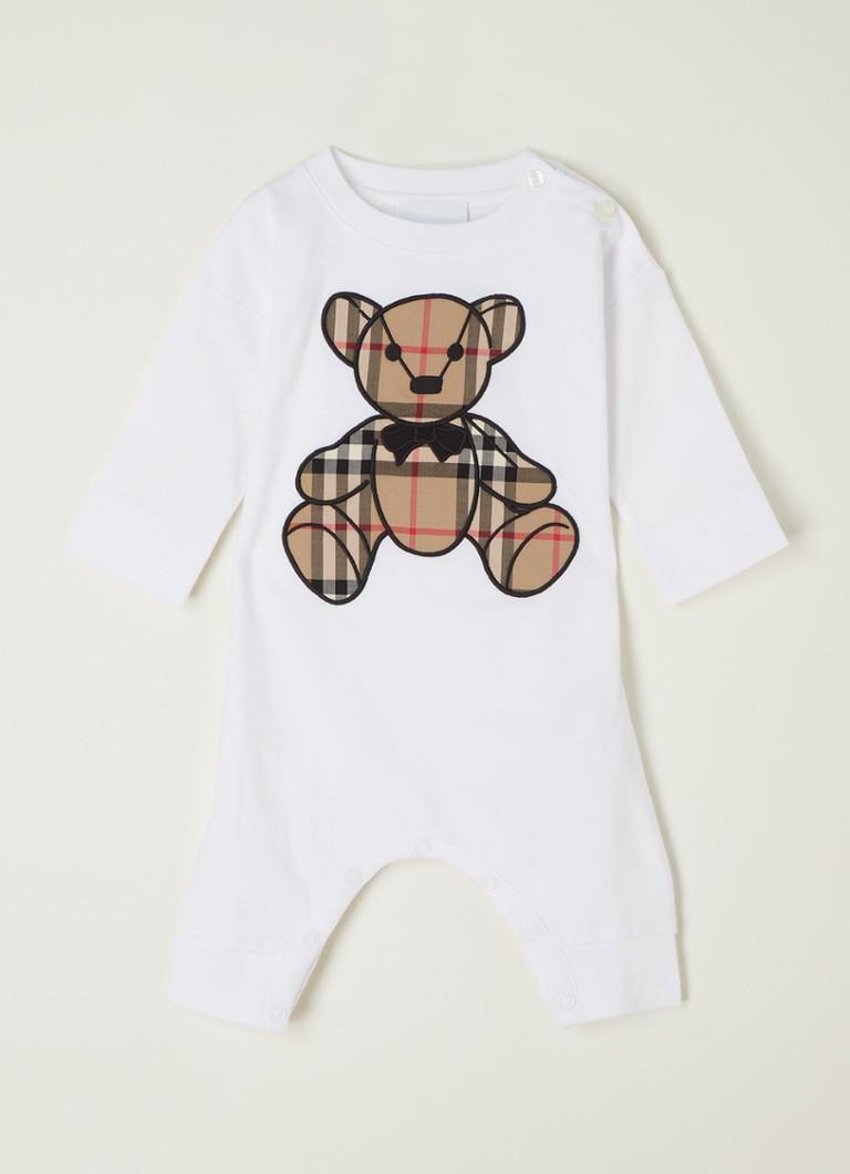 Babypak met borduring