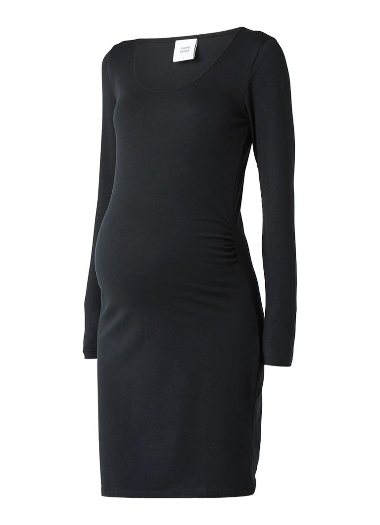 Mama Licious Mllea zwangerschapsjurk van jersey zwart