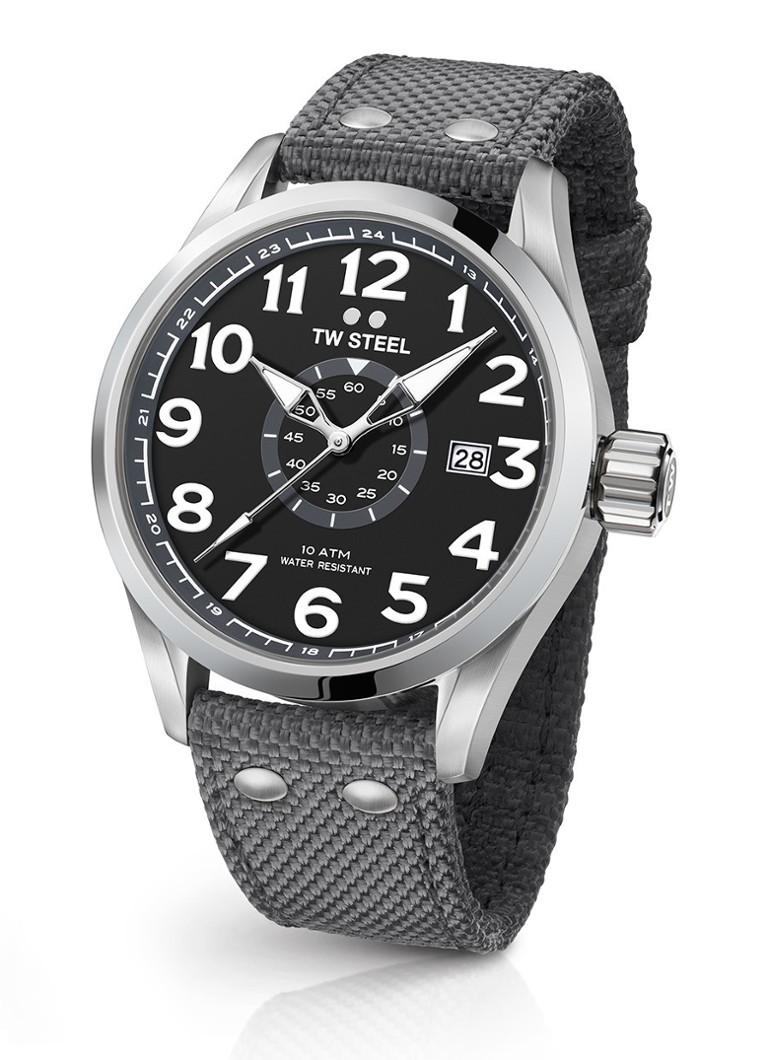 Horloges TW Steel Horloge Pilot Volante VS12 Grijs
