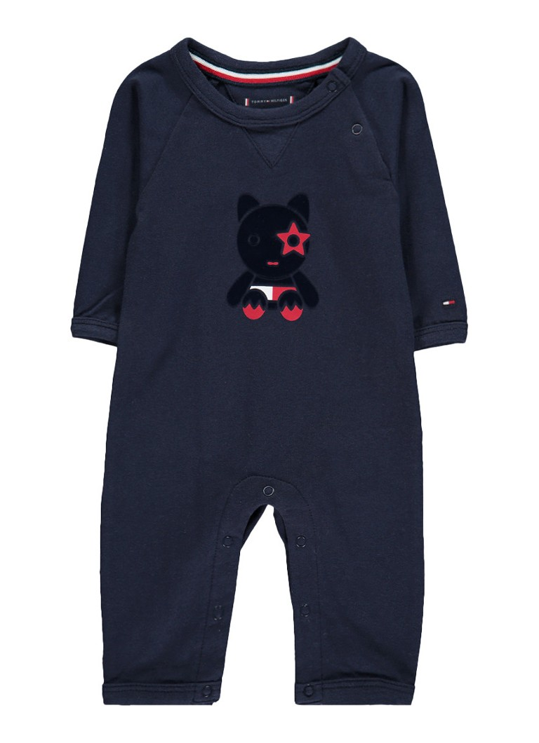 Tommy Hilfiger Mascot babypak met flockprint