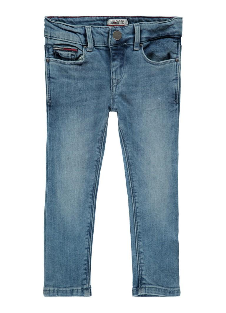 Tommy Hilfiger Nora skinny fit jeans met medium wassing