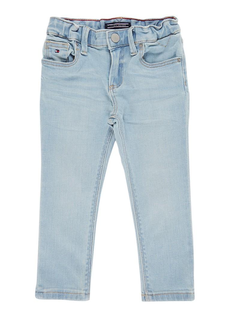 Tommy Hilfiger Slim fit jeans met lichte wassing