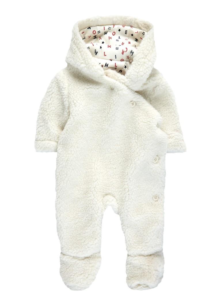 Tommy Hilfiger Babypak van teddy met capuchon
