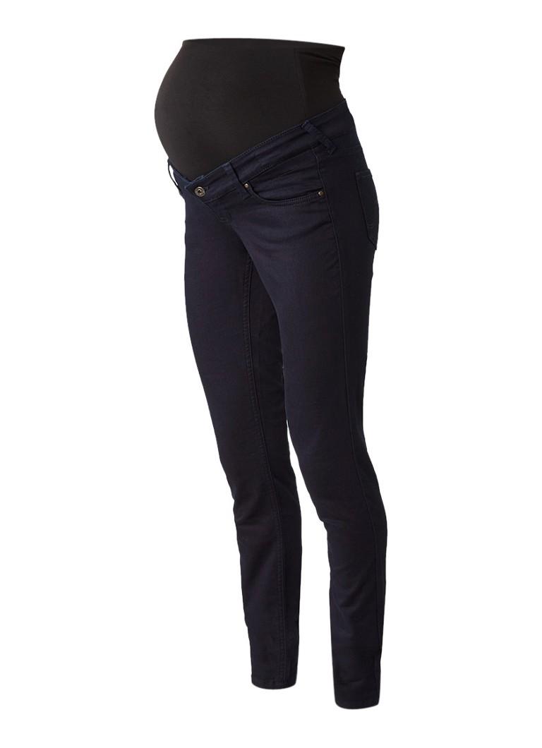 Queen Mum Slim fit zwangerschapsjeans met stretch blauw