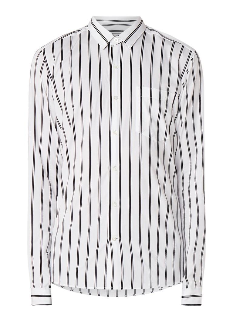 Image of Ami Regular fit overhemd met streepdessin