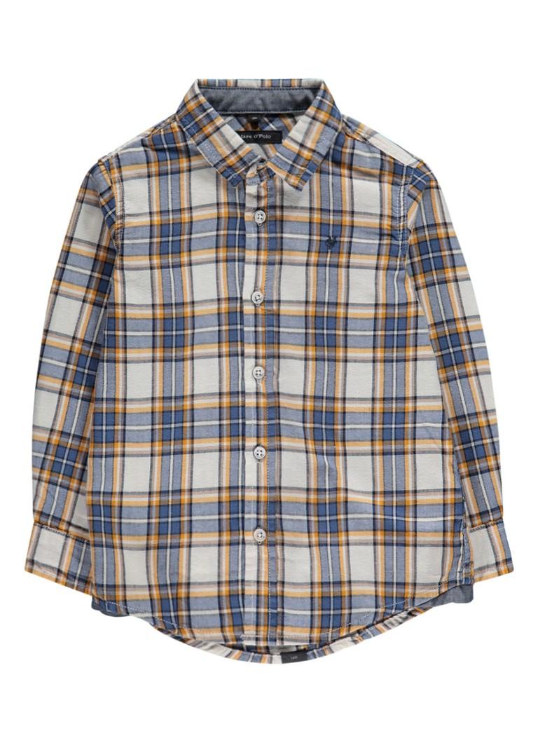 Marc O'Polo Overhemd met ruitdessin