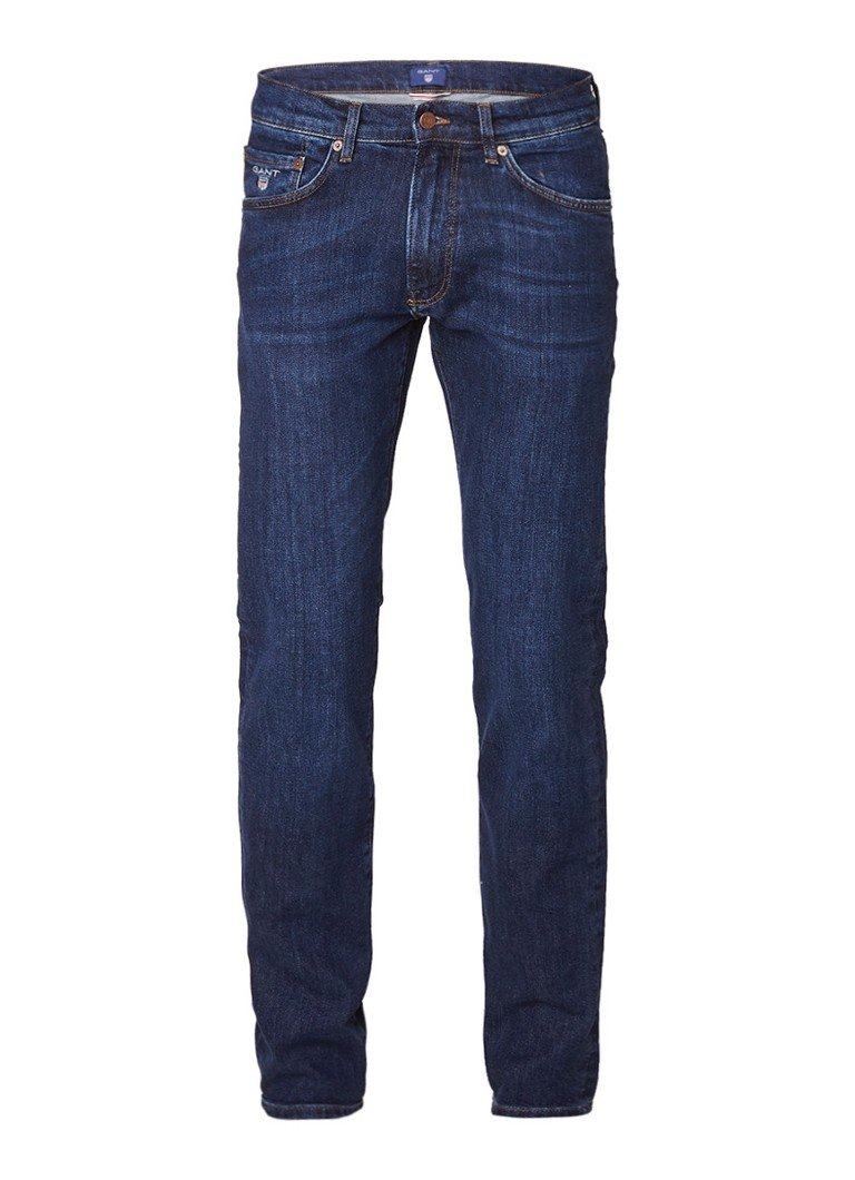 Gant Mid rise slim straight fit jeans