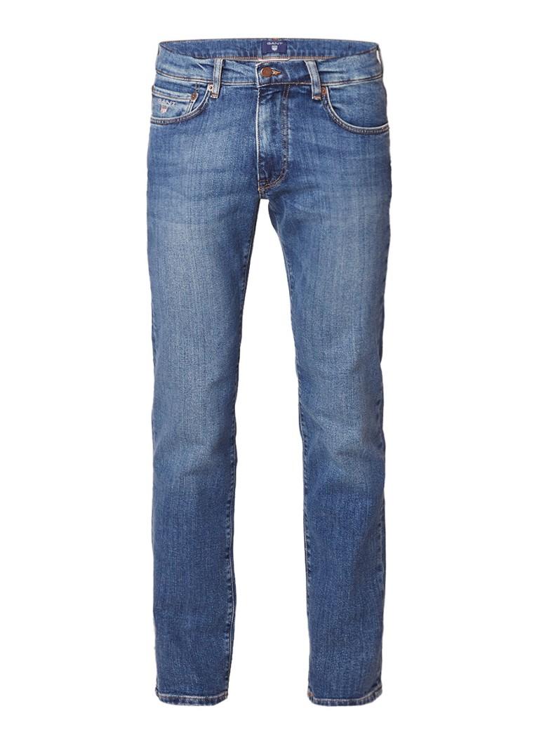Gant Mid rise slim straight fit jeans