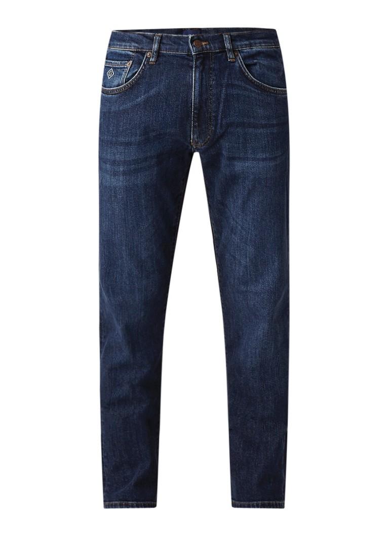 Gant Mid rise slim fit jeans met stretch
