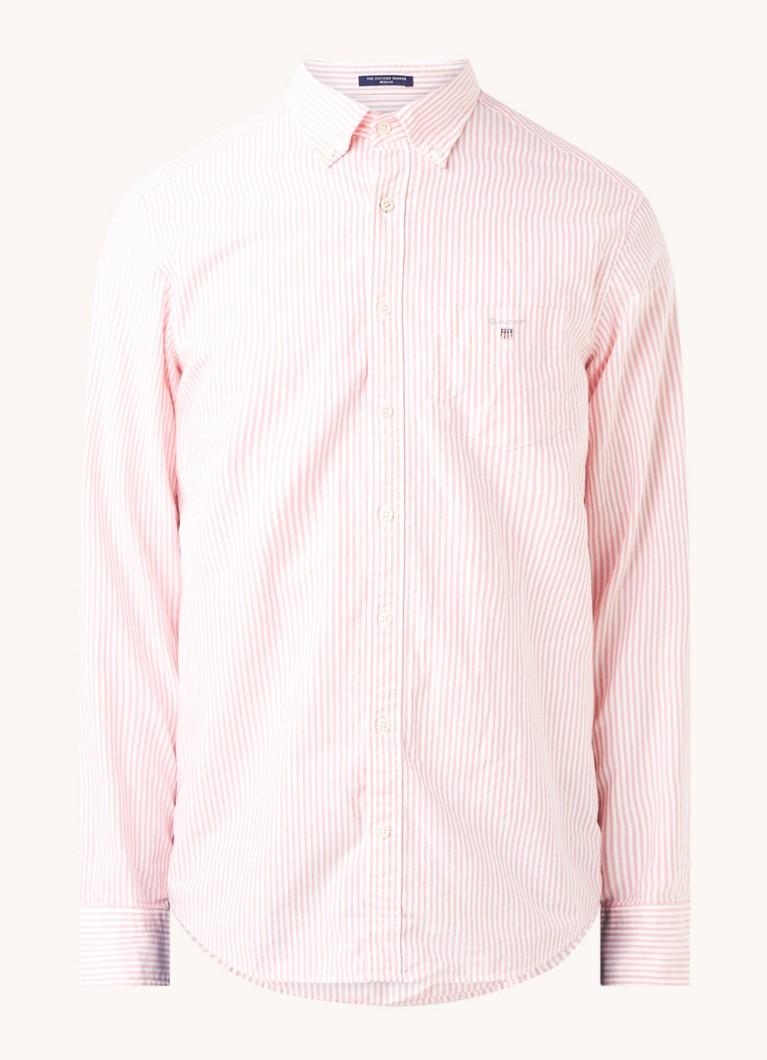 Regular fit overhemd met streepprint