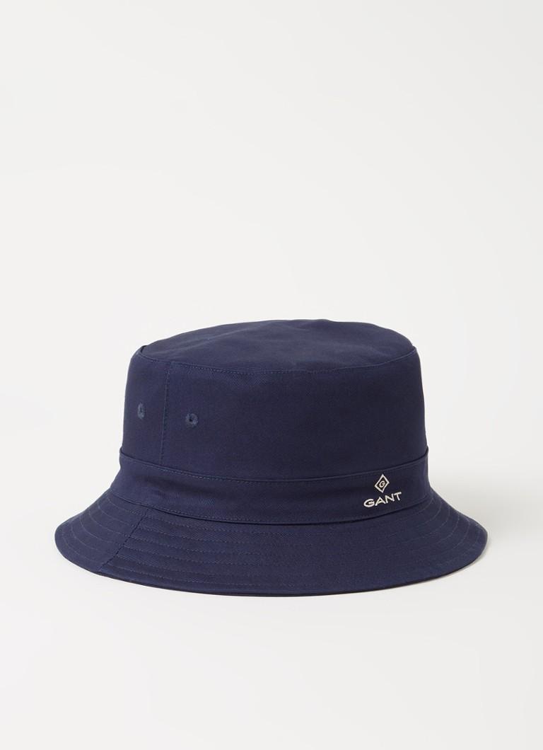 Bucket hoed met logo