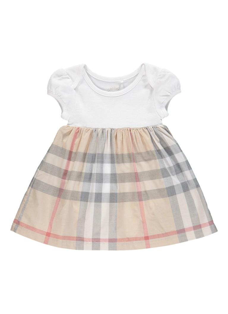 BURBERRY Cherrylina A-lijn jurk met geïntegreerde rompe