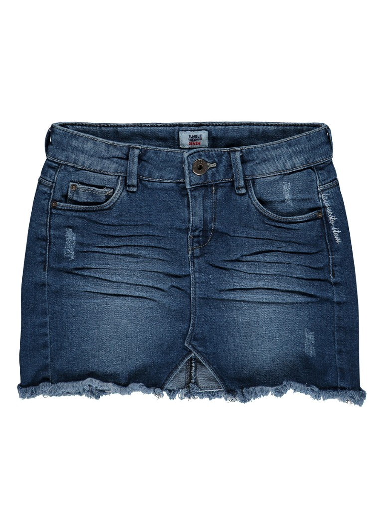 Tumble 'n Dry Filia denim rok met destroyed details