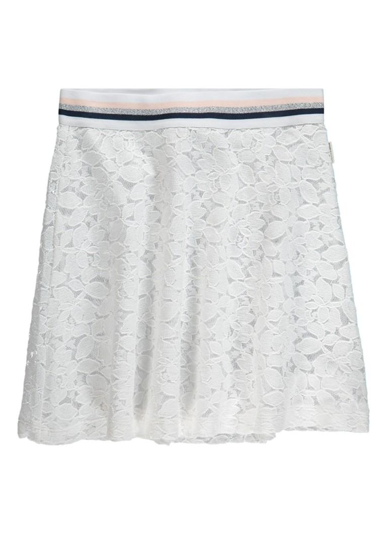 Tumble 'n Dry Alazne A-lijn rok met kant en lurex
