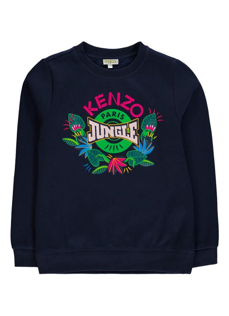 KENZO Elween sweater met logo opdruk
