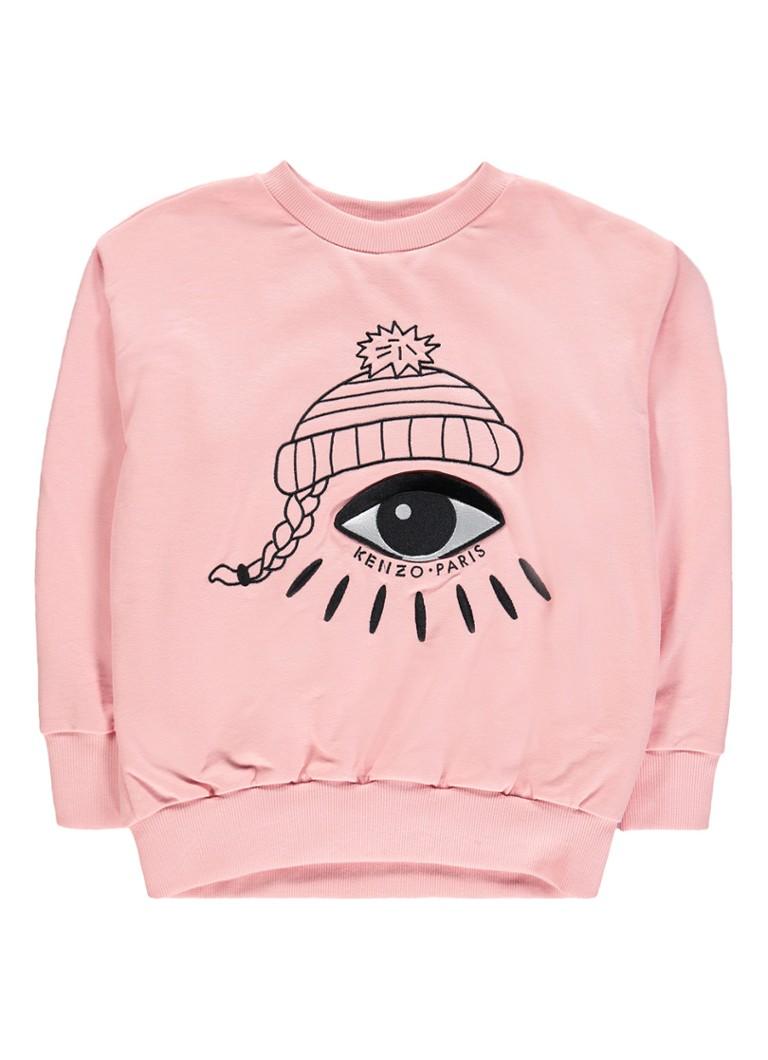 KENZO Edana sweater met logoborduring