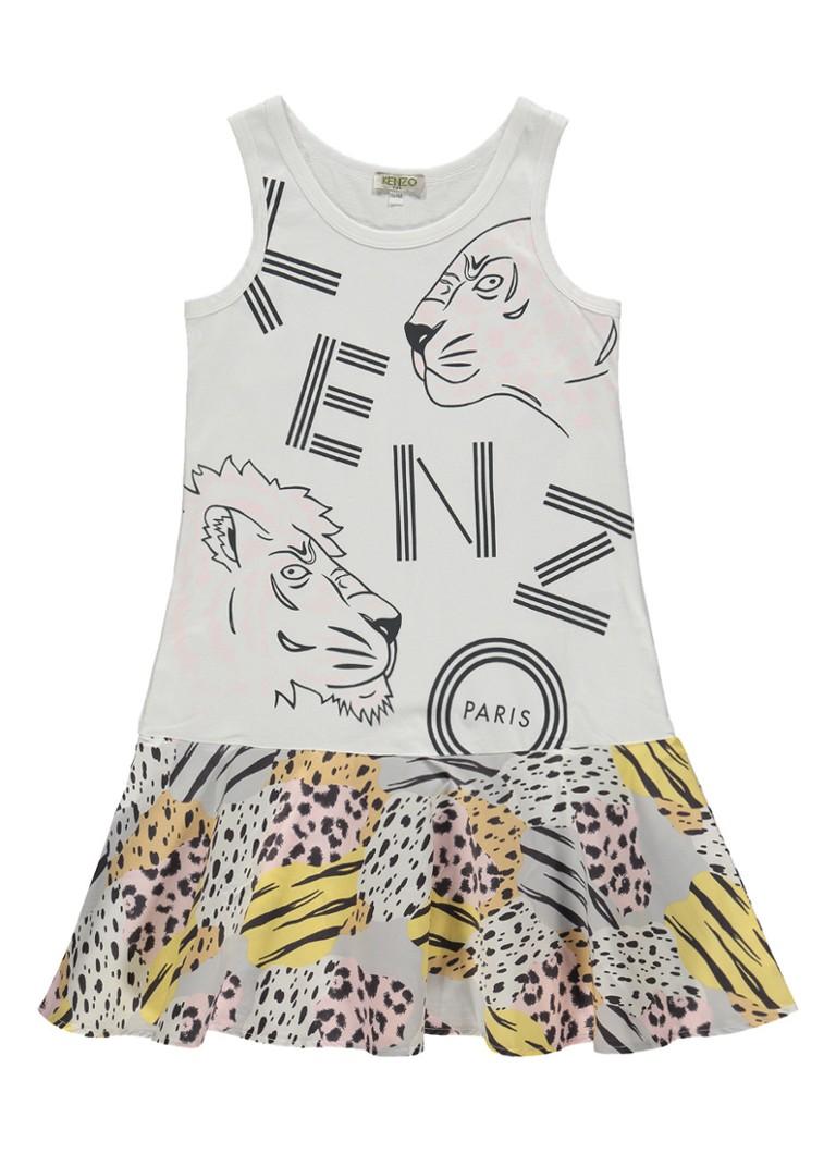 Kenzo Bafouille jurk met logoprint